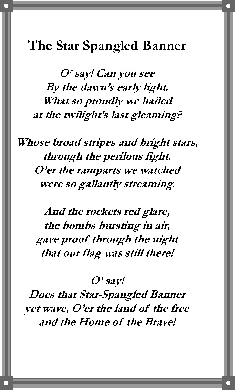 140426 Buchanan_Handout_2014_223rd_Anv_Page_1 (1) back cover Star Spangled Banner.jpg