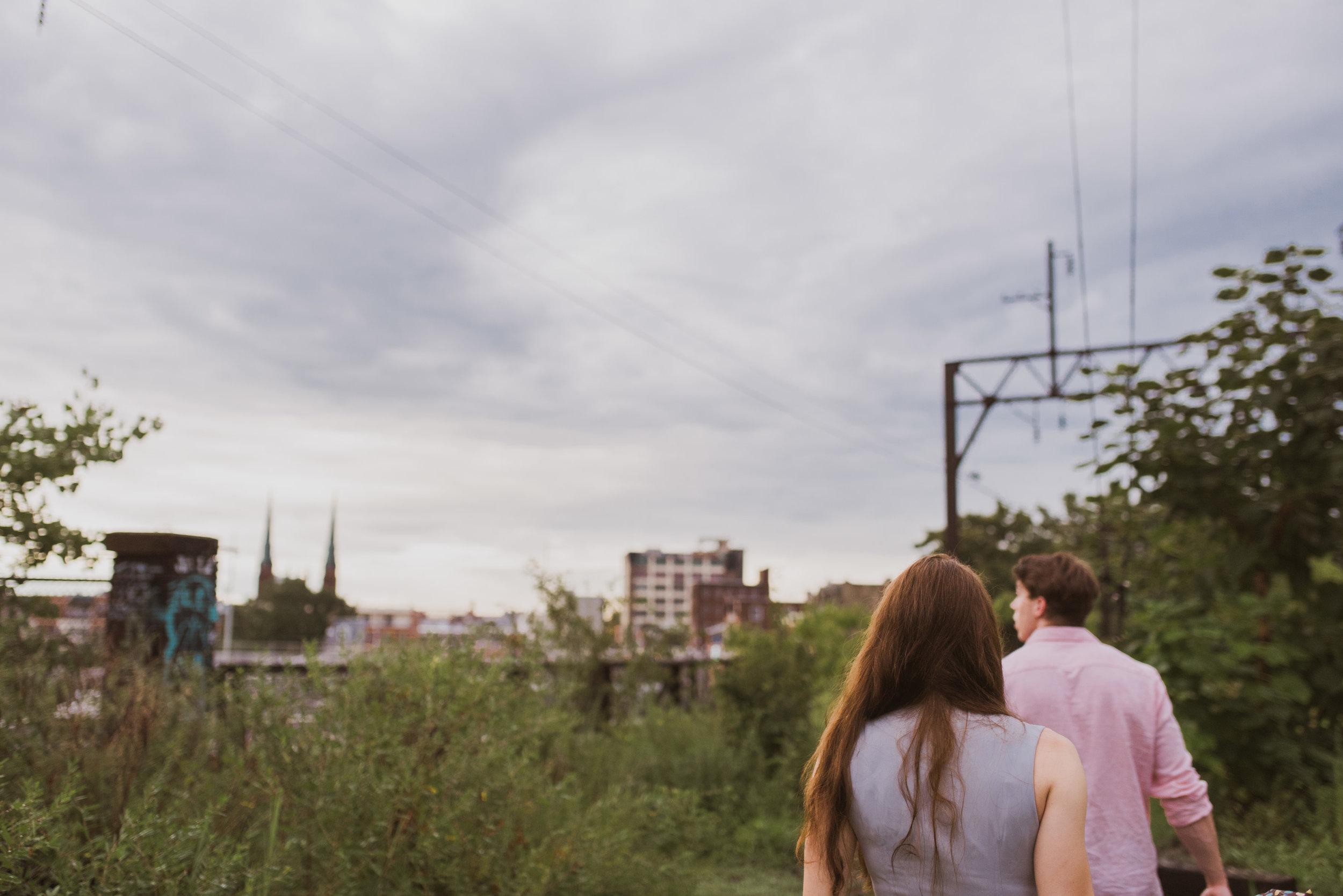 reading viaduct engagement shoot