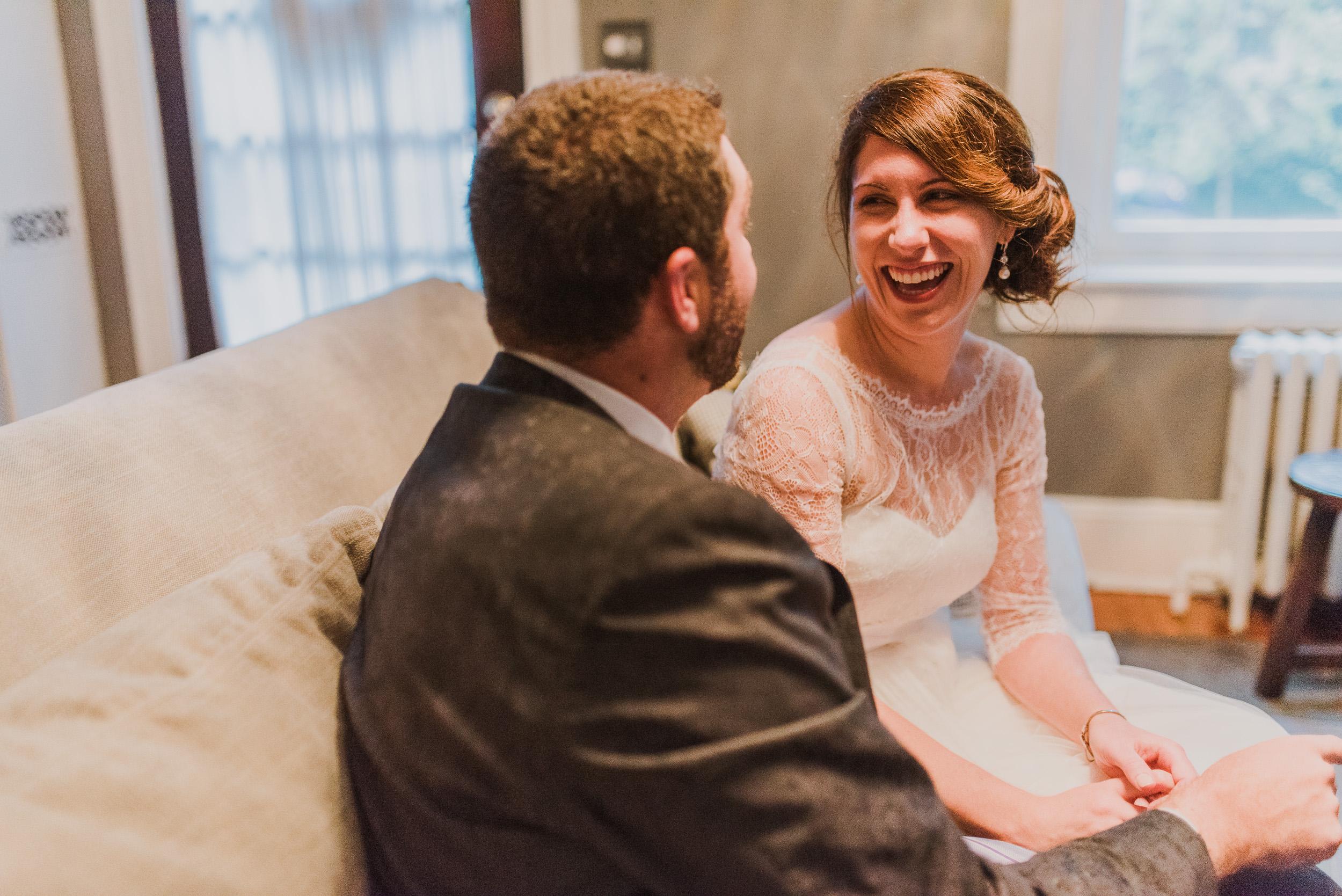 intimate Richmond backyard wedding