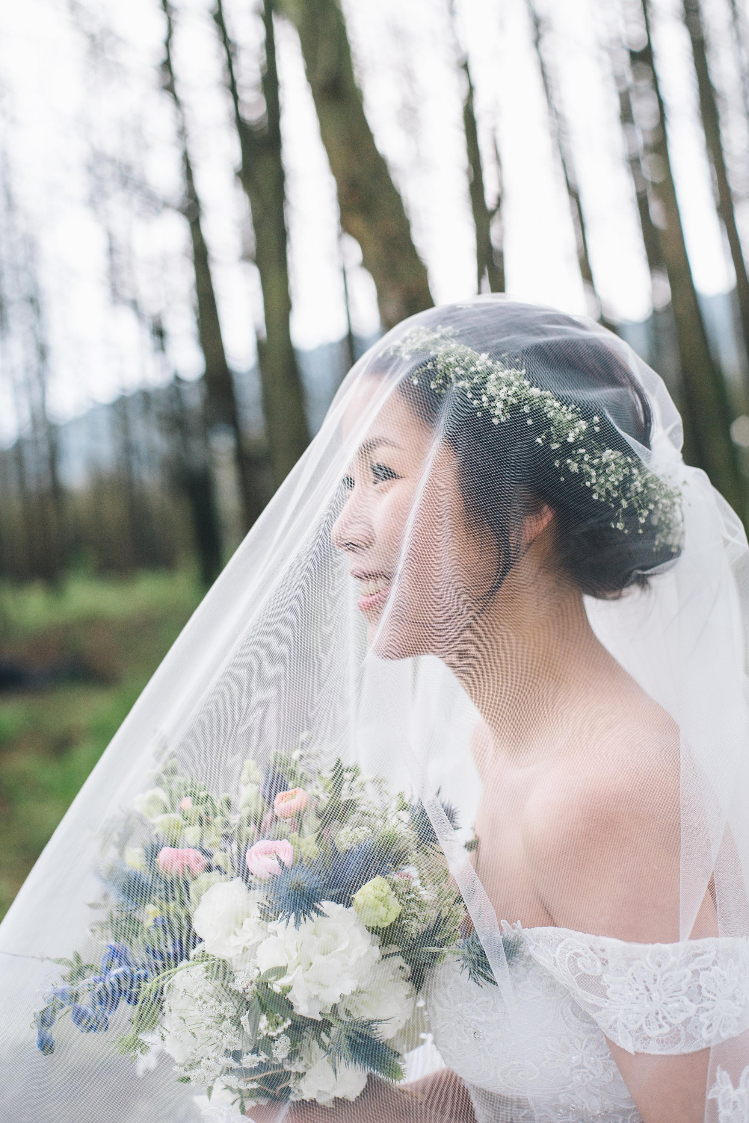 Wedding bouquet design -