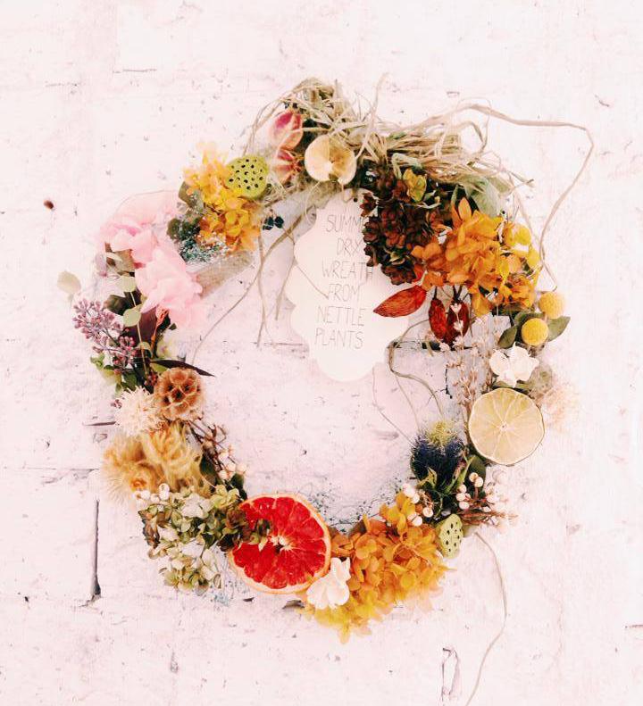 Summer wreath -