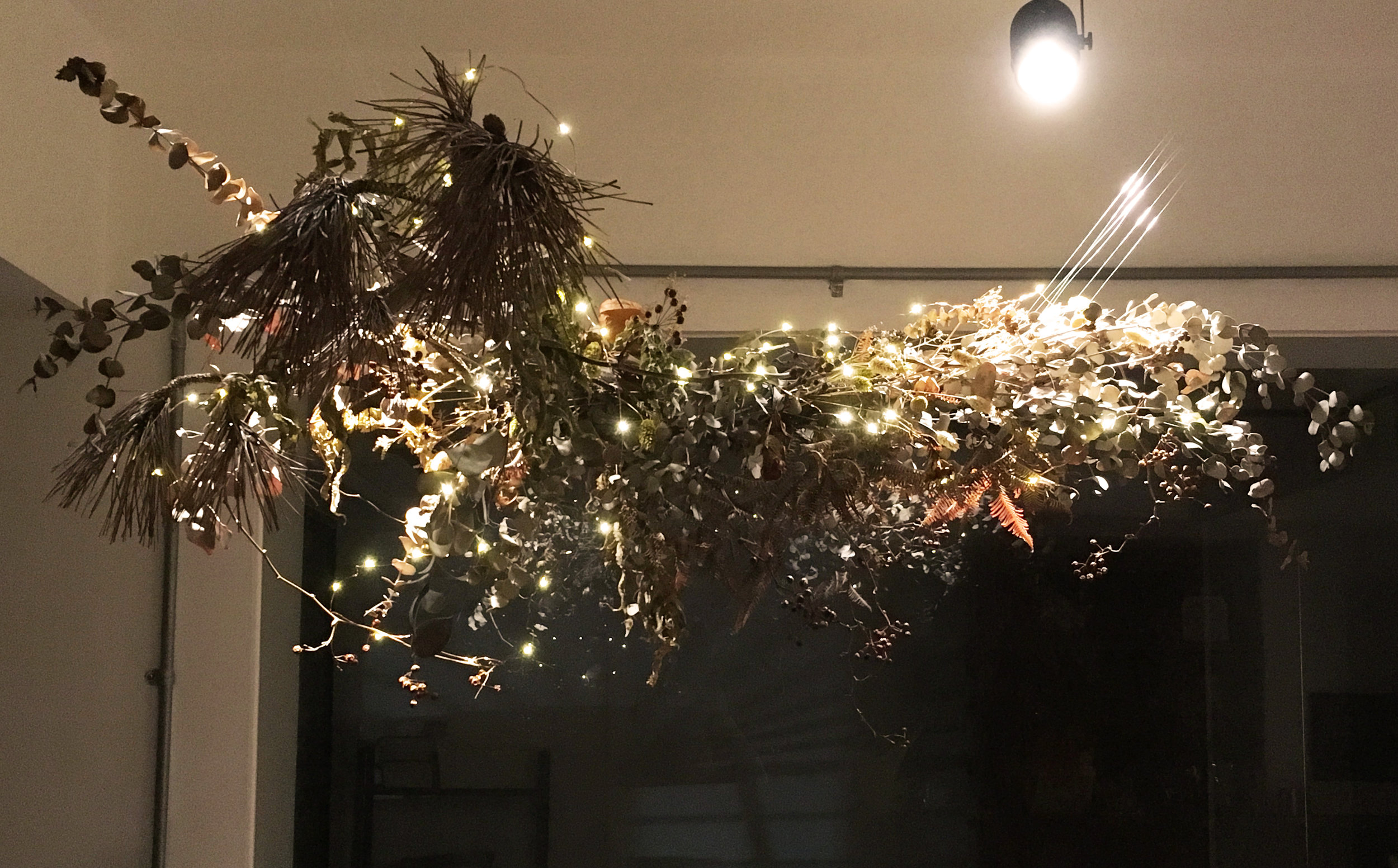 Shakespeare :A Midsummer Night's Dream Party / Floral installation -