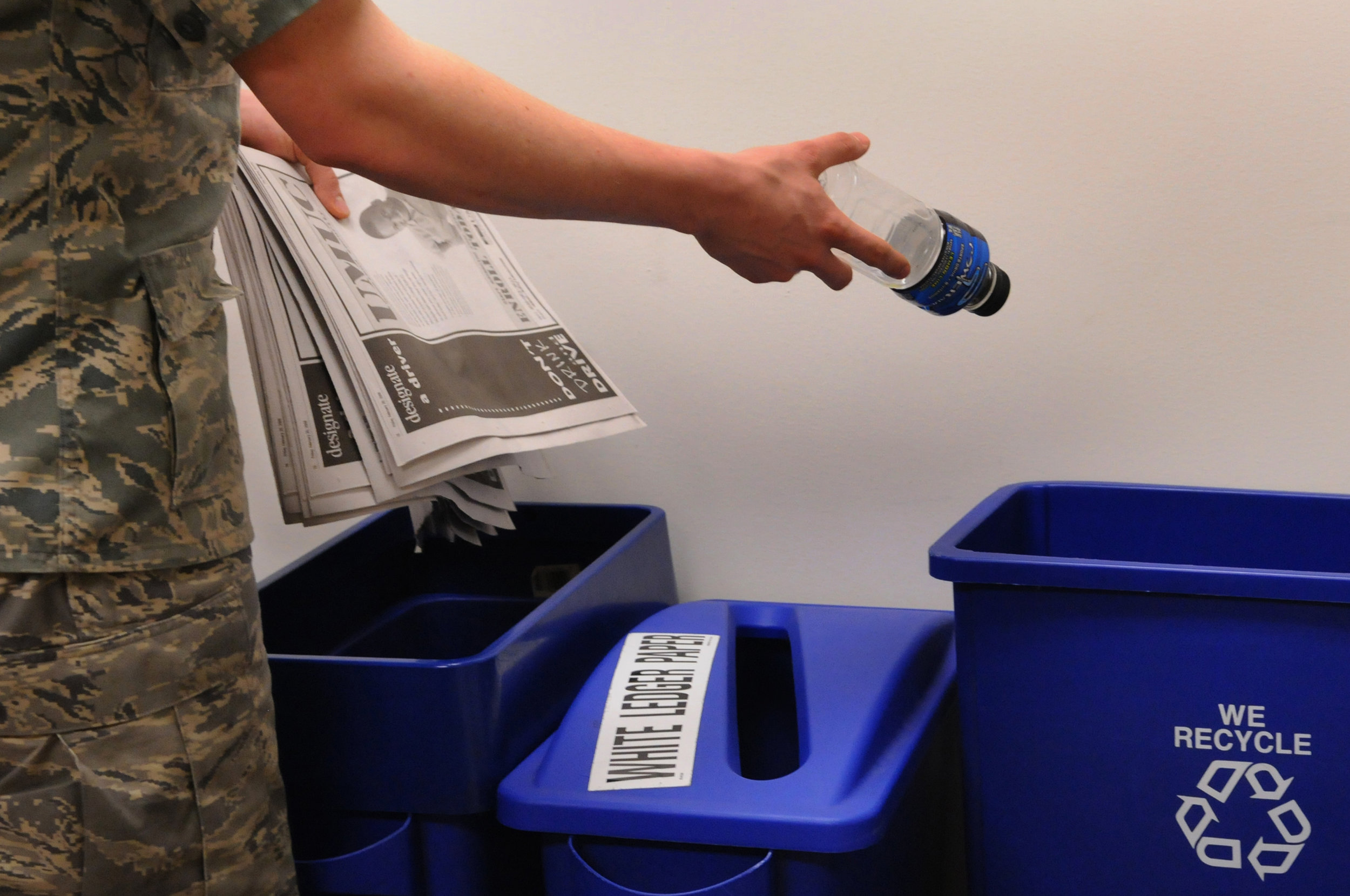 6. RECYCLE! -