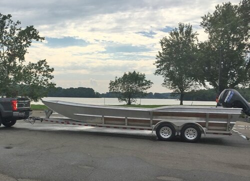 Keep the Tennessee River Beautiful's new 25-foot-long boat ready for upcoming river cleanups