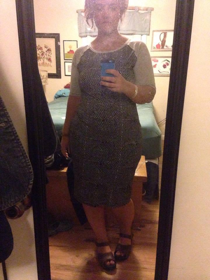 Va-va-va-voom Julia dress by LuLaRoe, size XL, $45