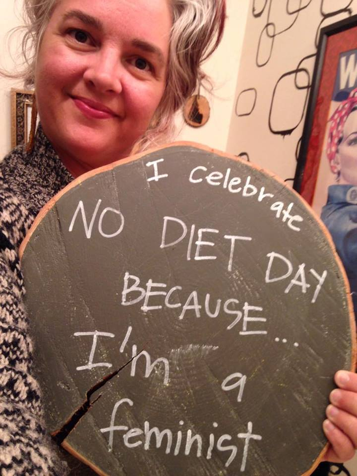 Selfie for International No Diet Day 2017 in conjunction with an online activism event with Fat Positive Louisville