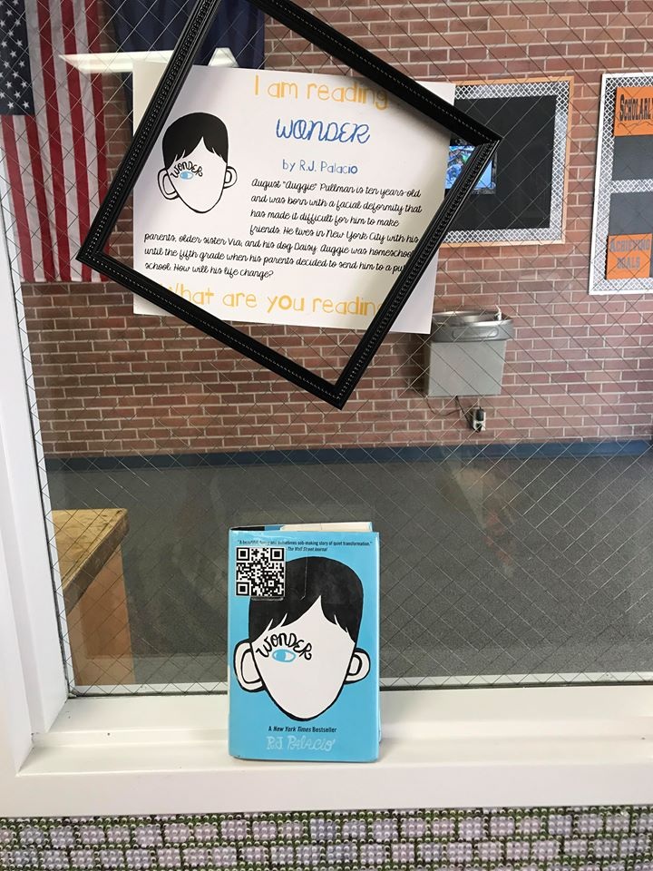 Another of my favorite body positive books for kids, on display at Hawthorne Elementary School Library.