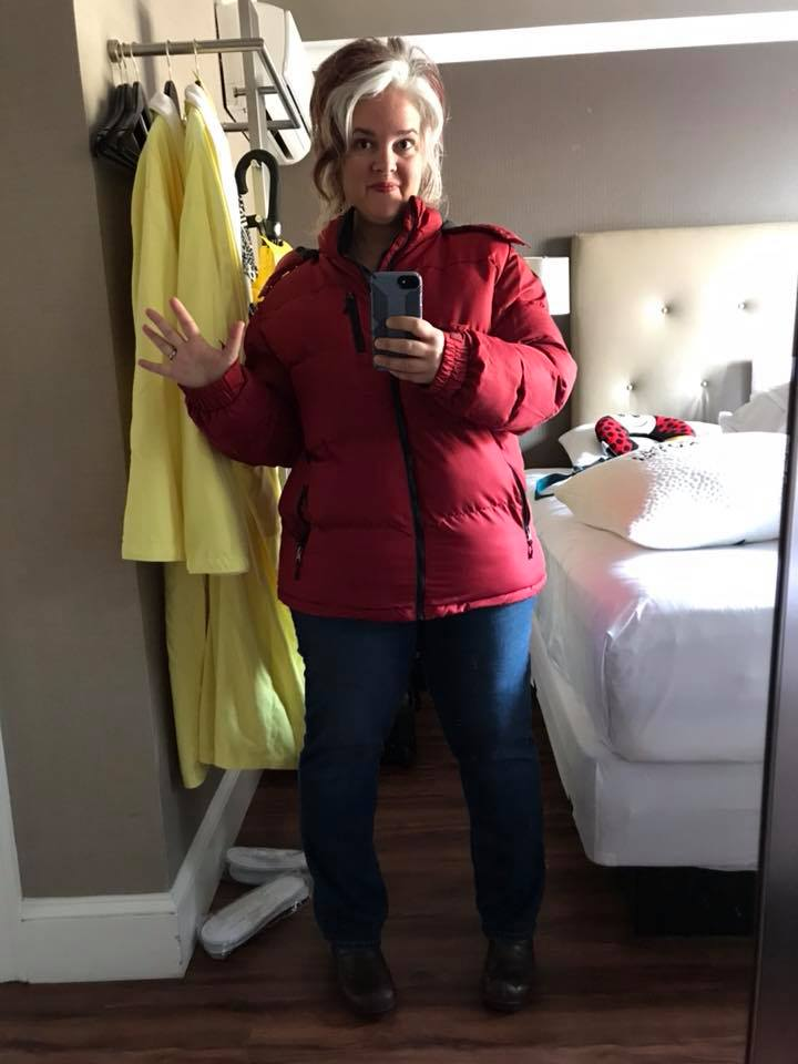 Day five in Boston where it was cold as hell in March but my uterus was warm and snug INSIDE where it belongs.