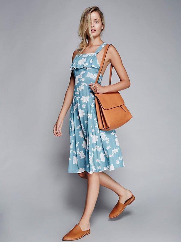 Sweet Jane Swing Midi Dress