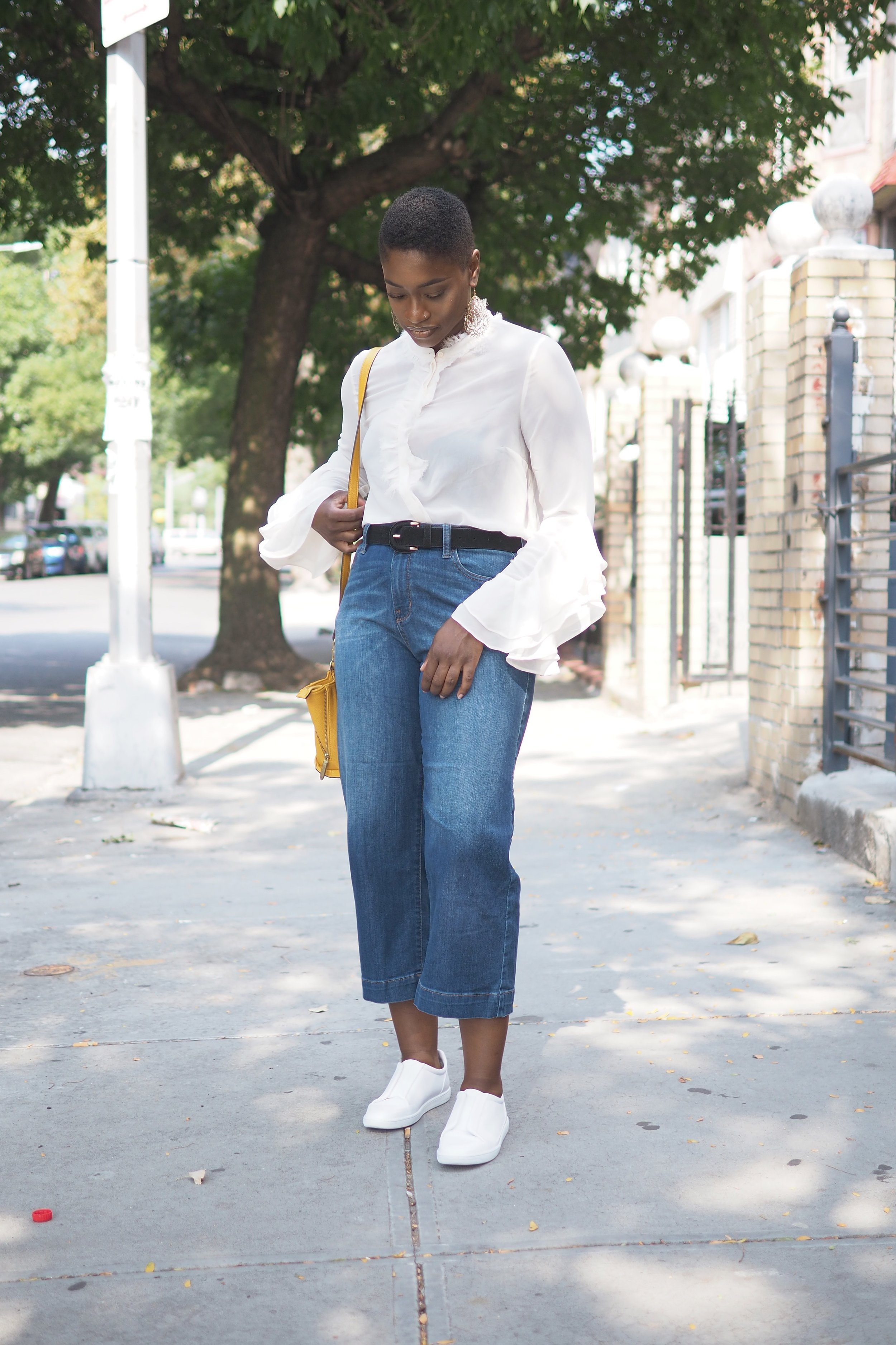 Ruffle top and culottes 3