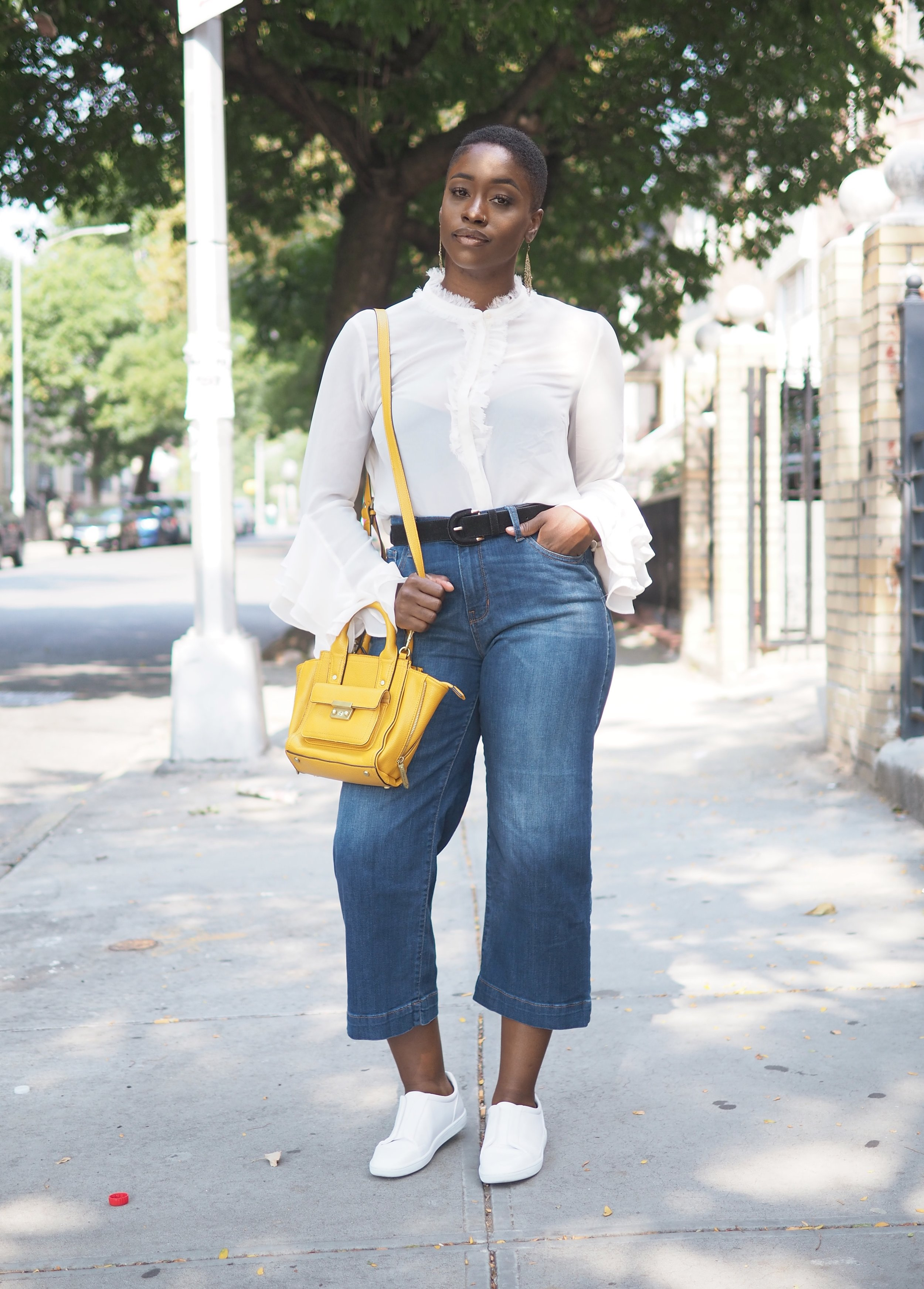 Ruffle top and culottes 5