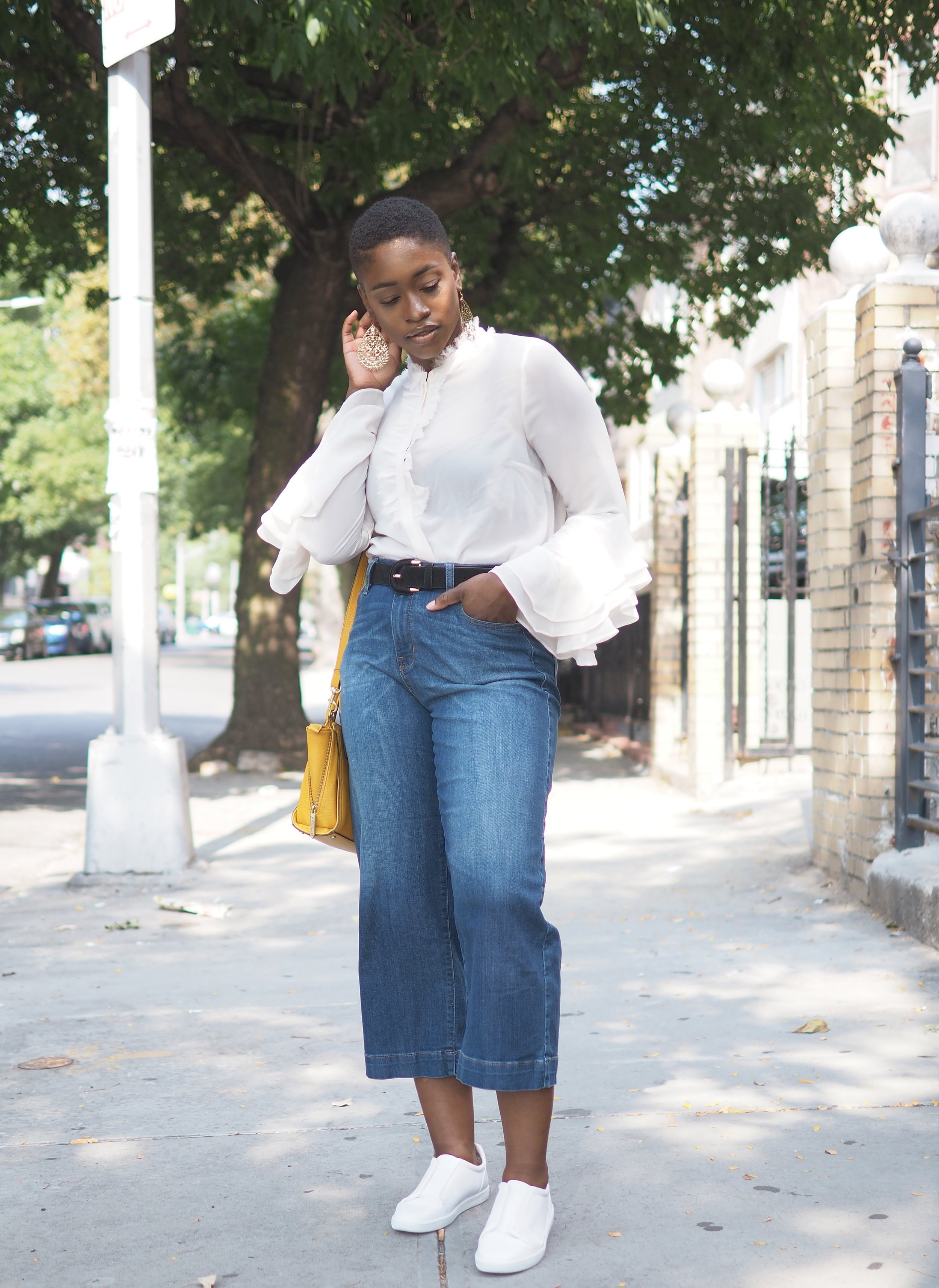 Ruffle top and culottes 6
