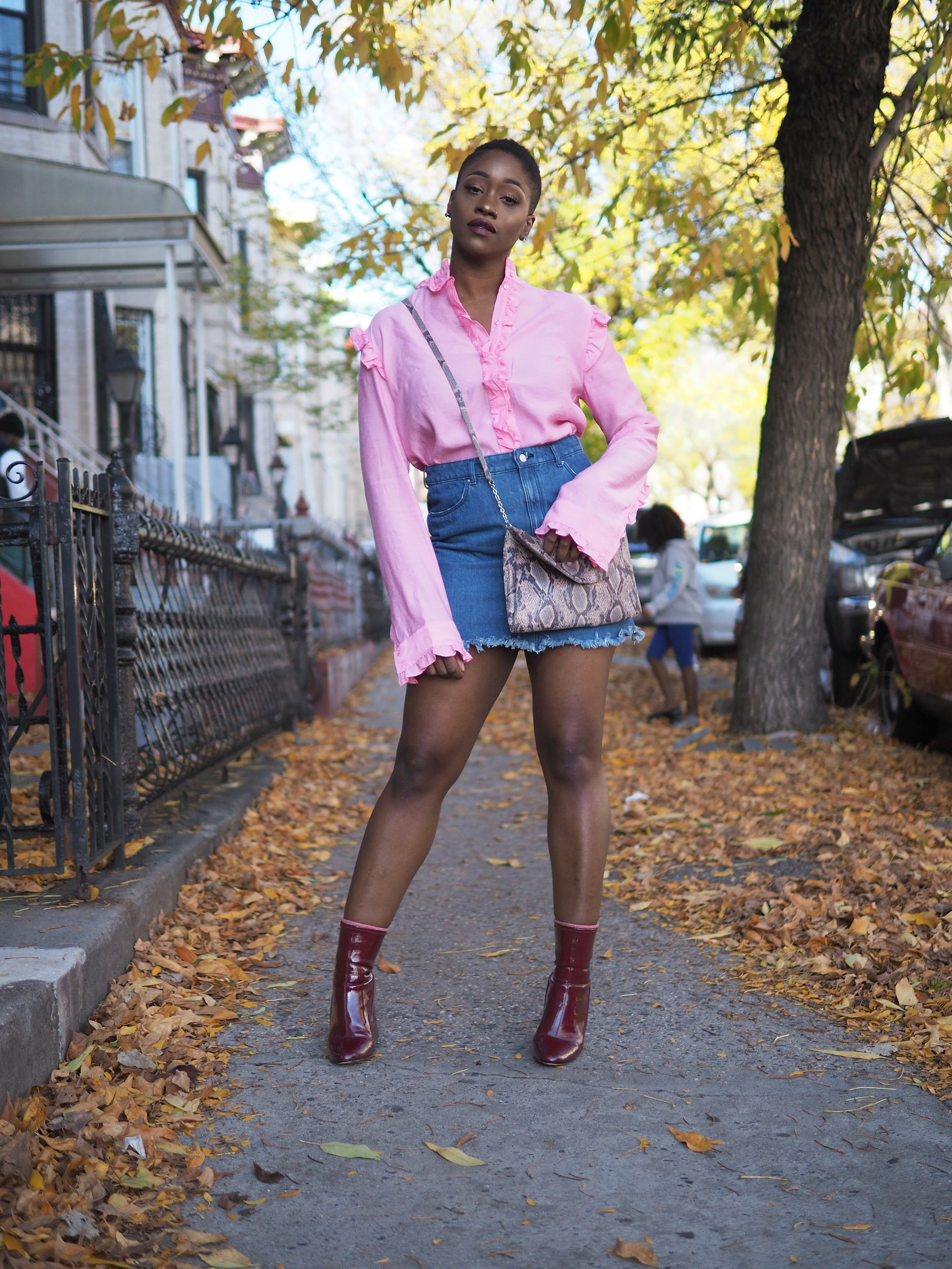 Pink Ruffle Top by The Language of Yolande 6