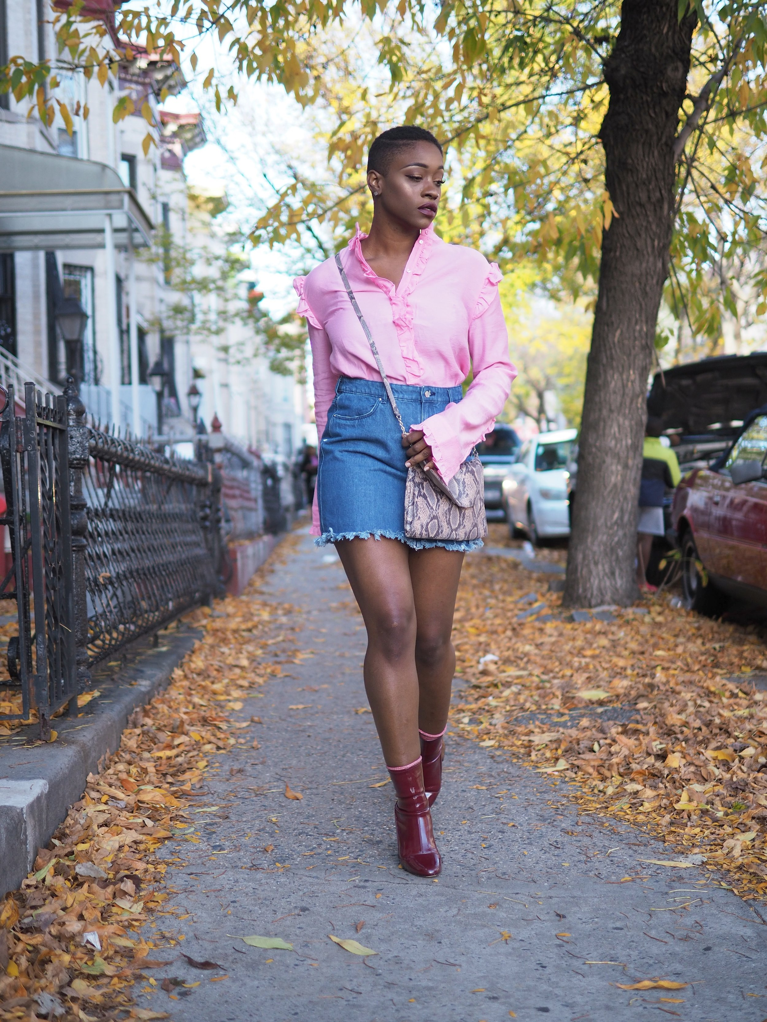 Pink Ruffle Top by The Language of Yolande 7