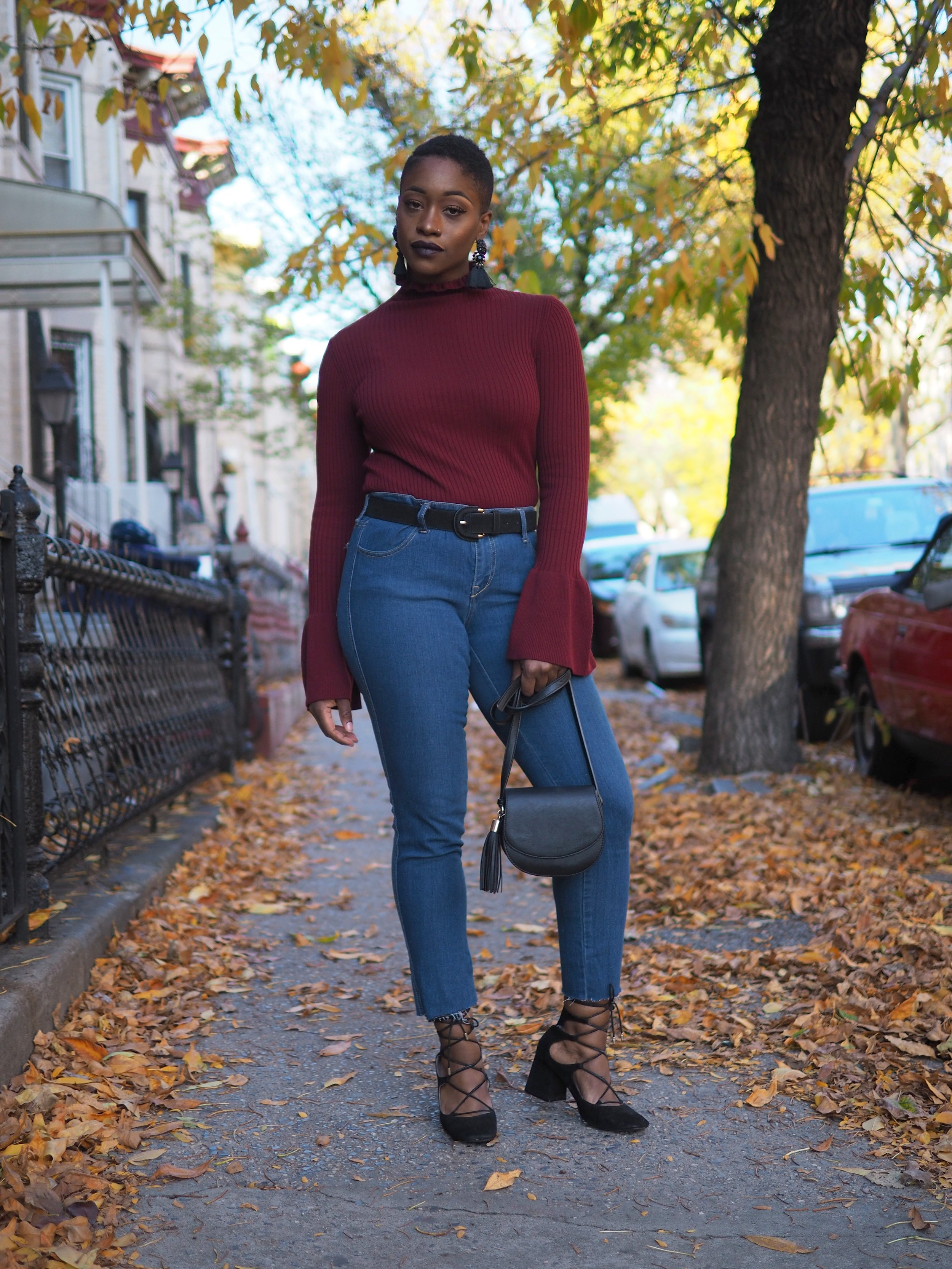 bell sleeve sweater 2