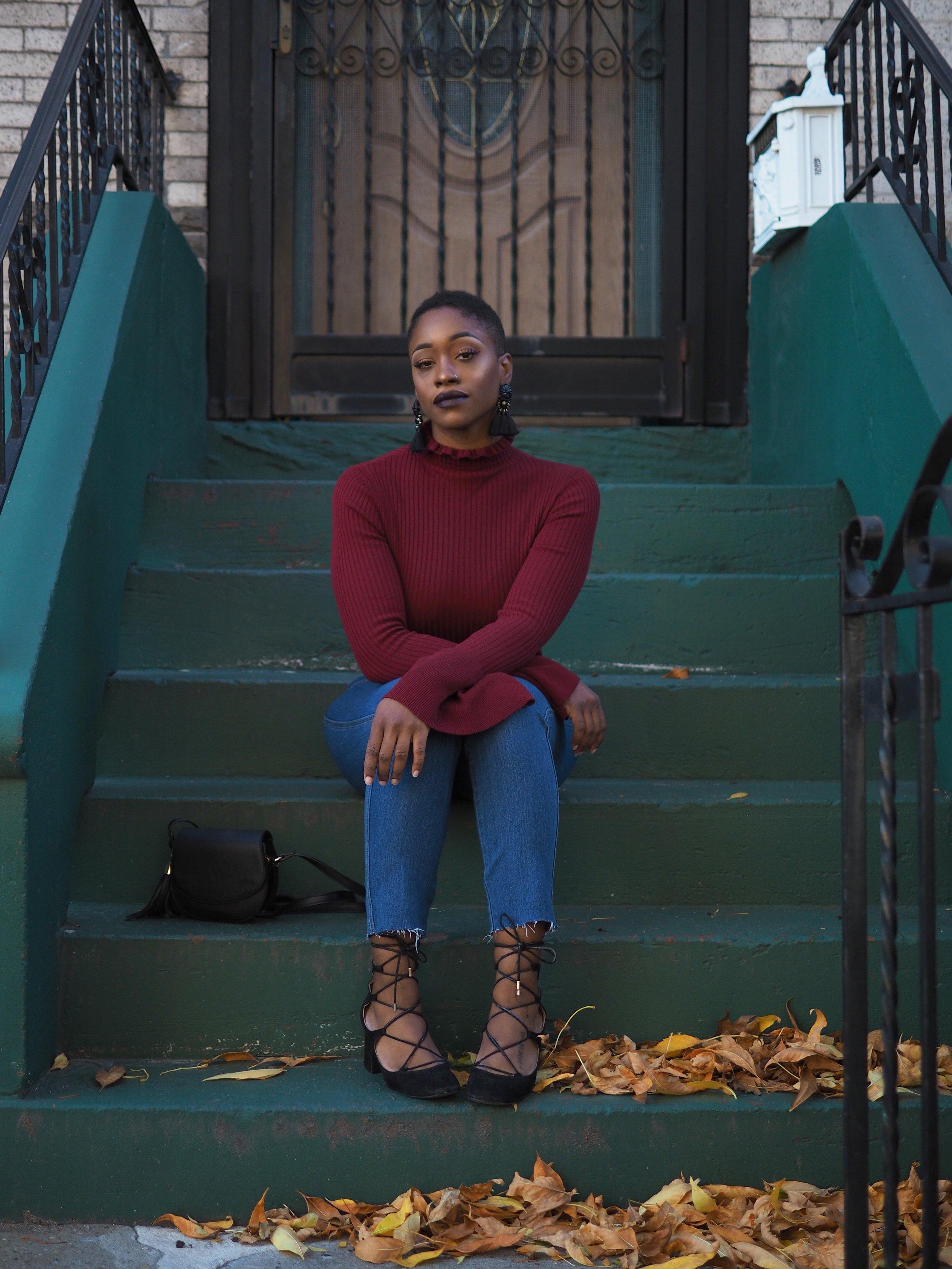 bell sleeve sweater 6
