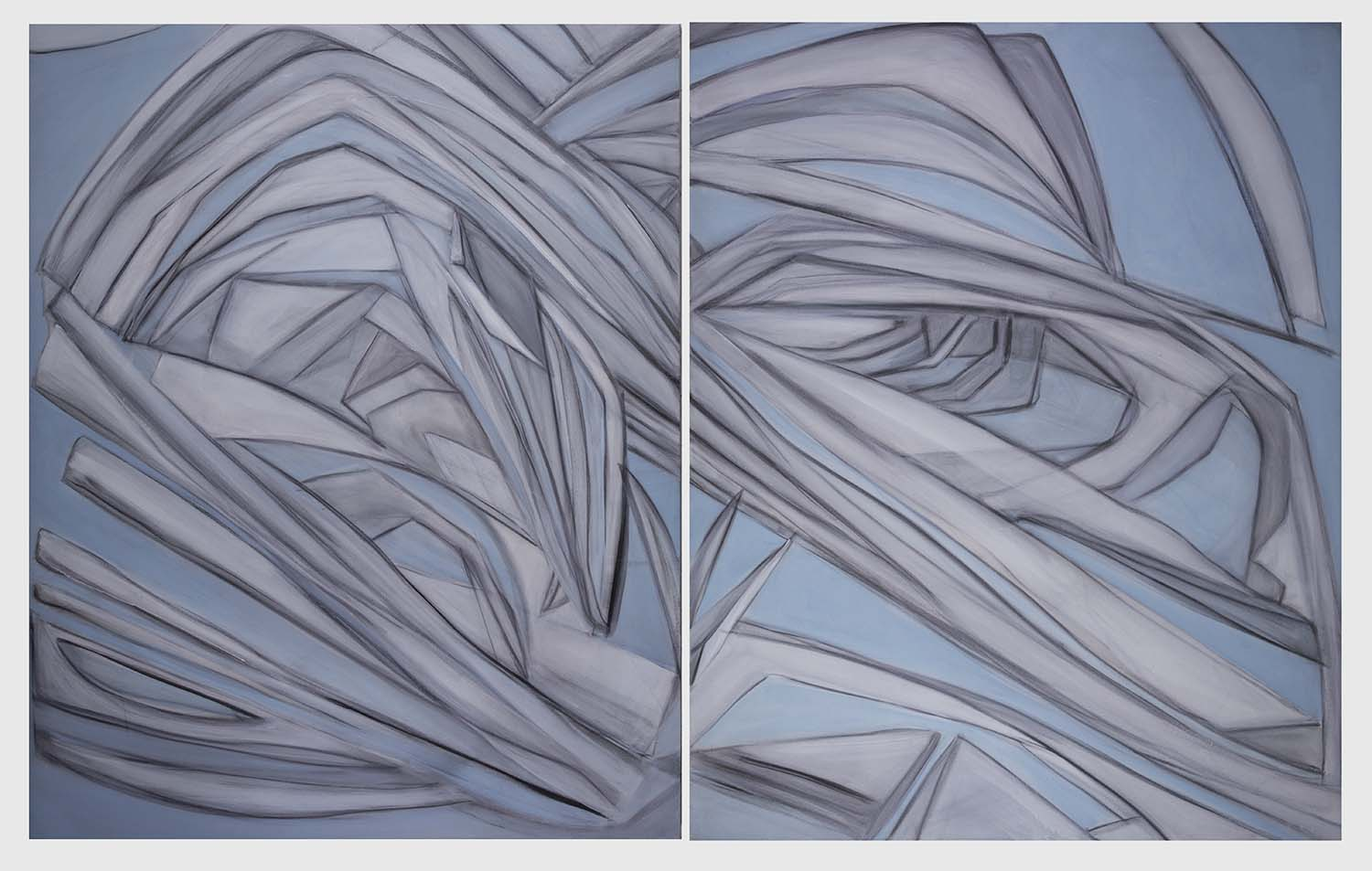 Mareas ~ Diptych