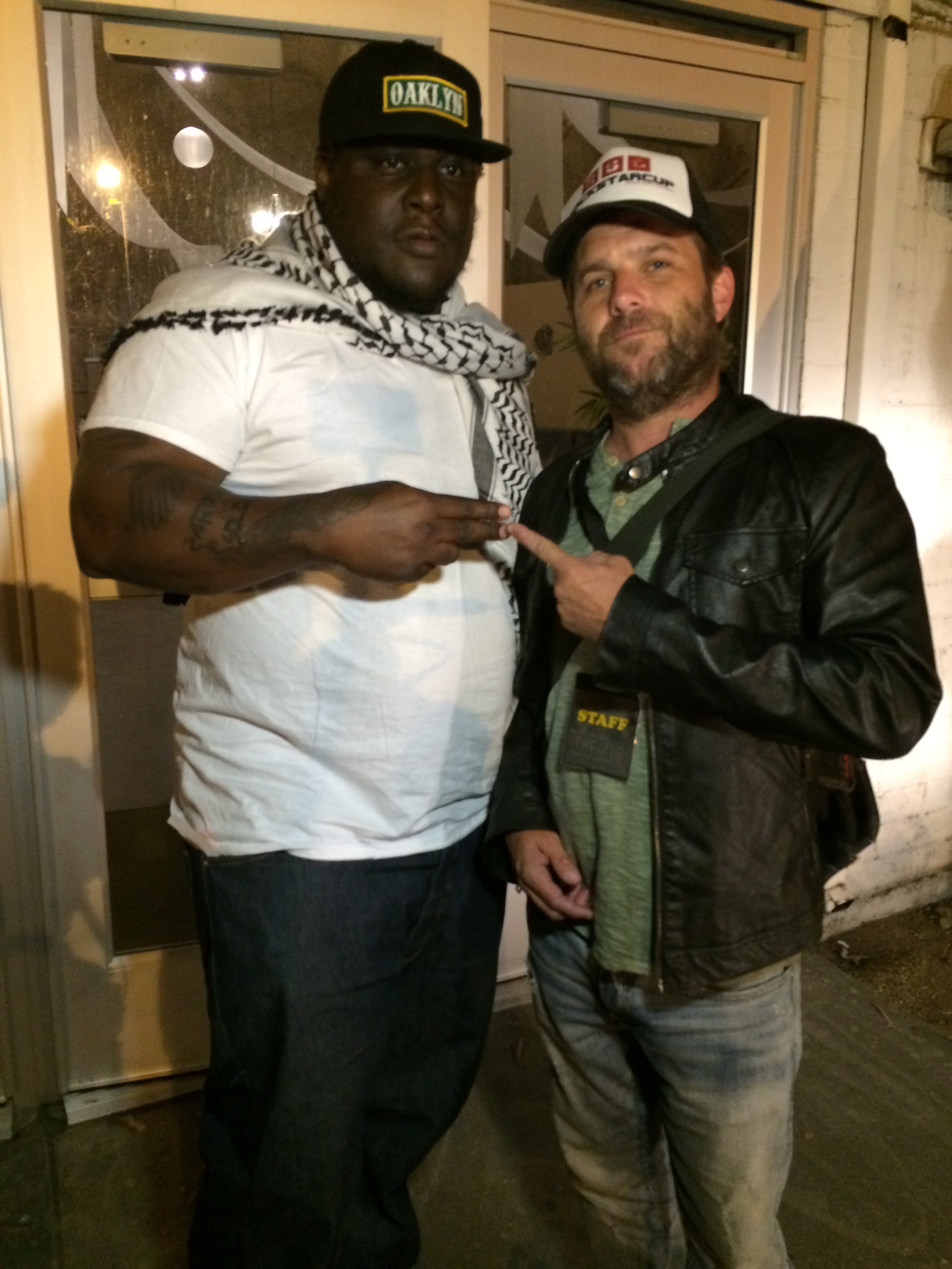 Killah Priest and Director Frank Meyer behind the scenes 2015