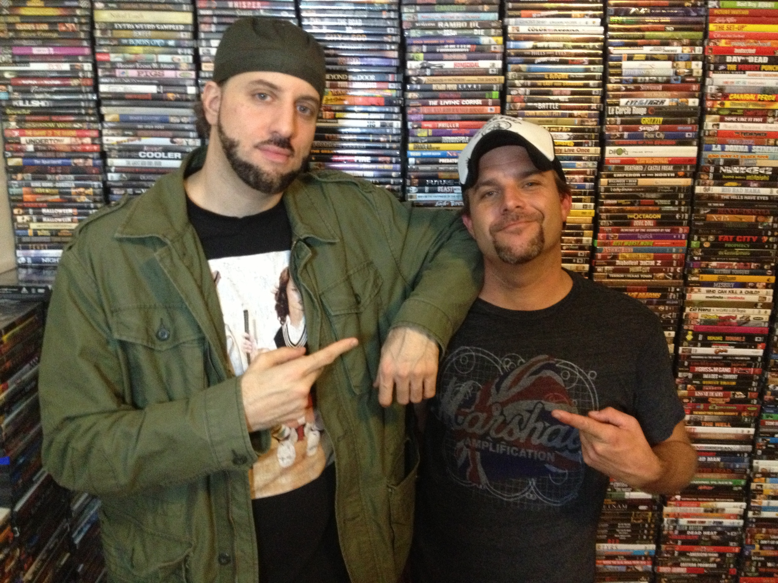 RA the Rugged Man and Director Frank Meyer behind the scenes 2012