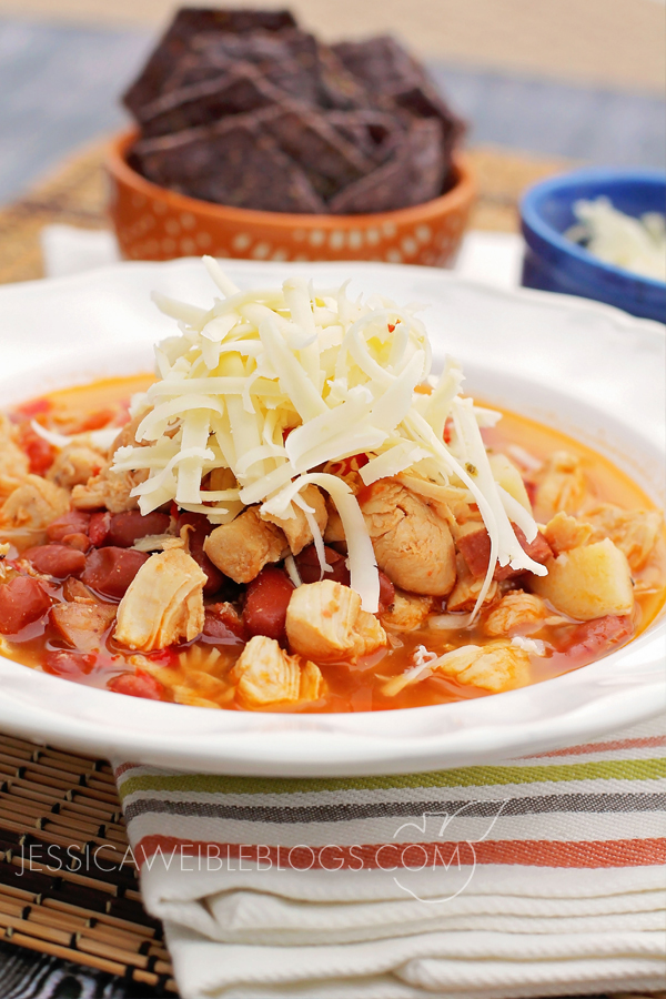 Chicken Sausage Stoup