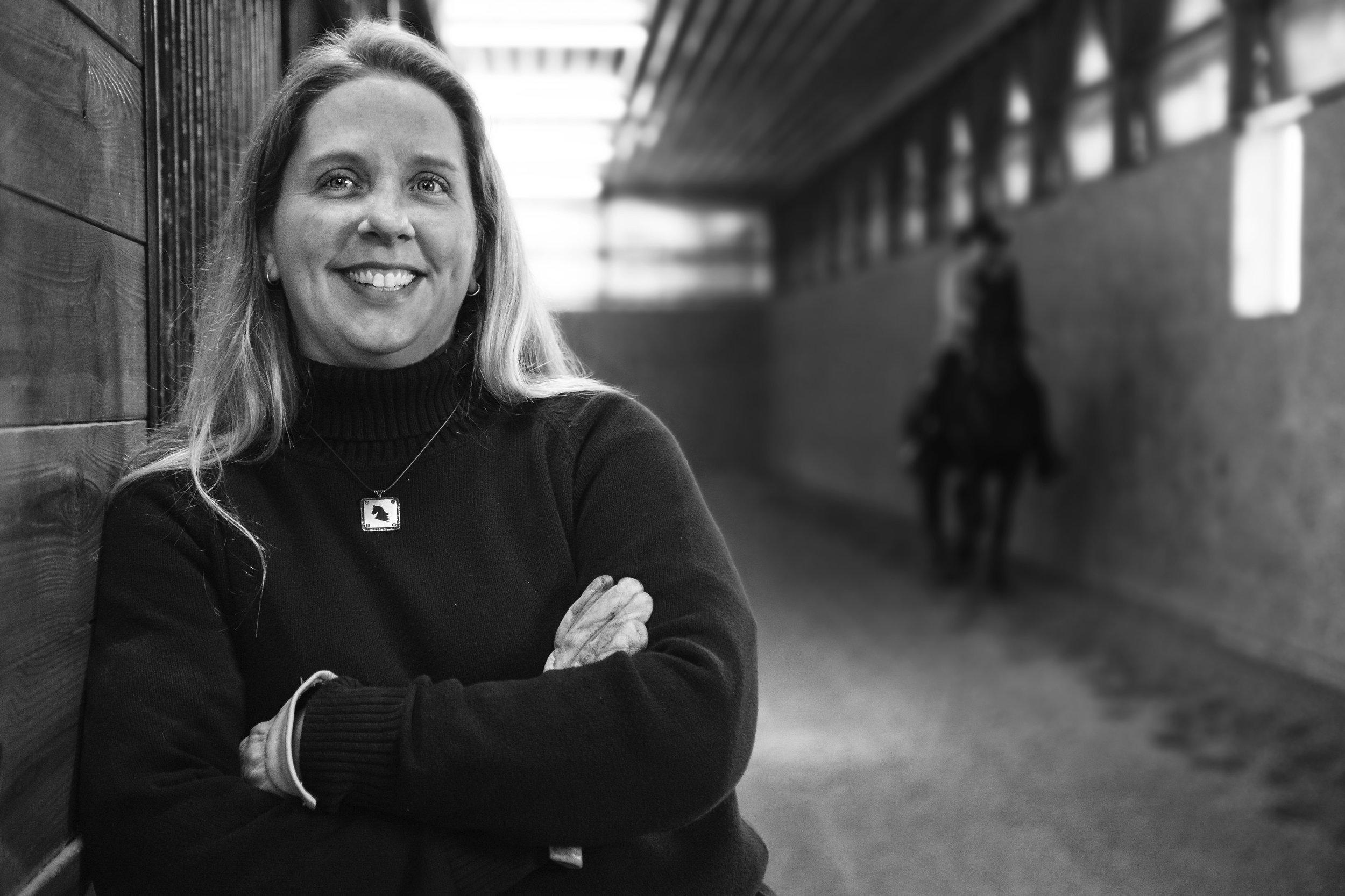 Leslie Melvin - Owner and Trainer