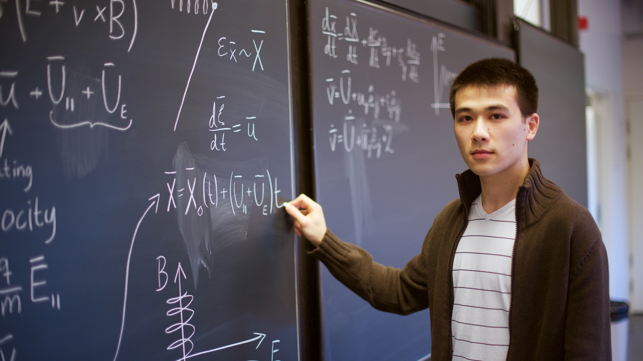 Dennis Alp forskar inom astrofysik och har tilldelats Anders Walls stipendium. Foto: Mikael Ingemyr