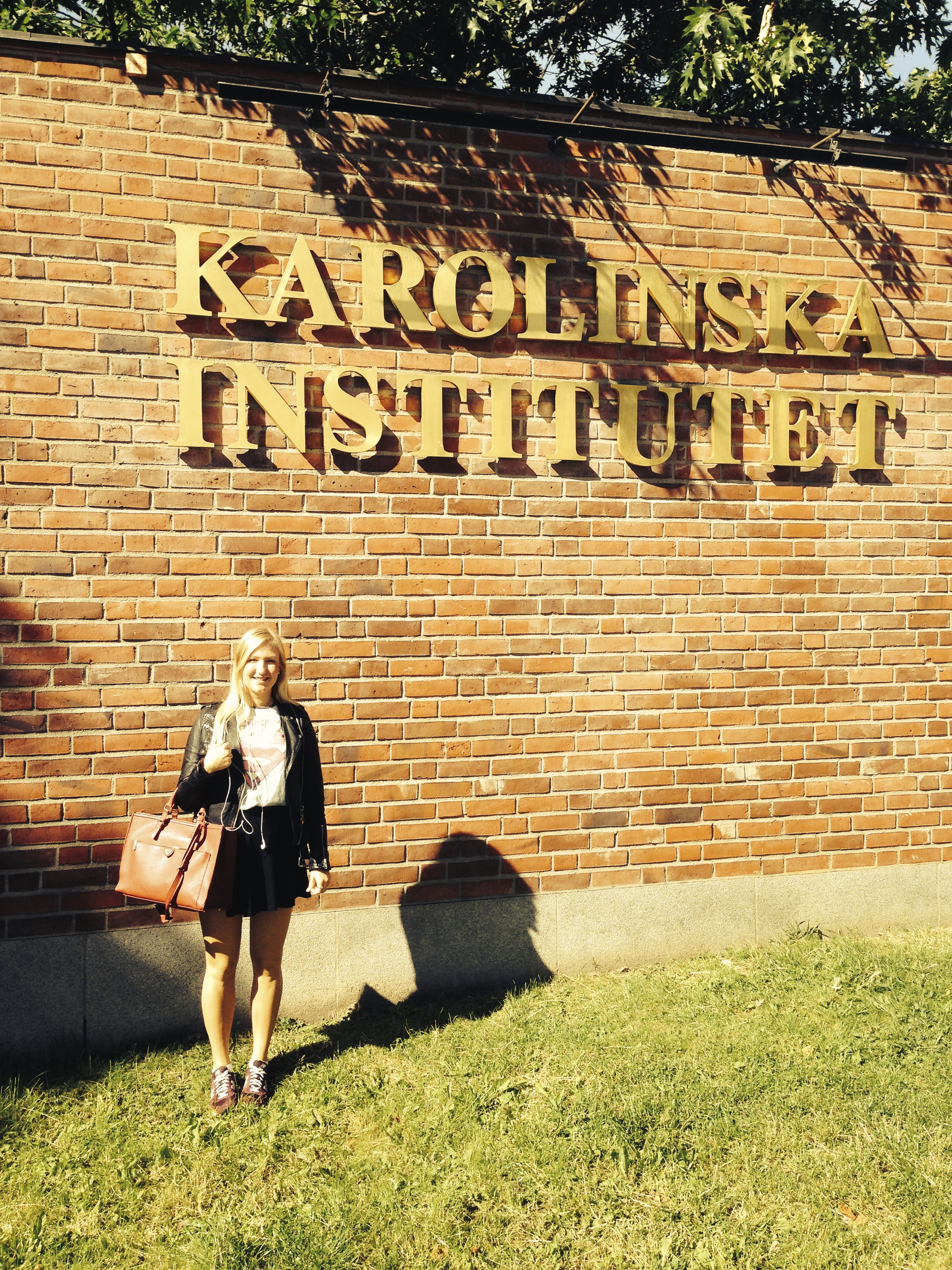 Elina Richardsdotter Andersson spenderade några av sina sommarlovsveckor 2014 på Karolinska Institutet där hon forskade inom neurologi.