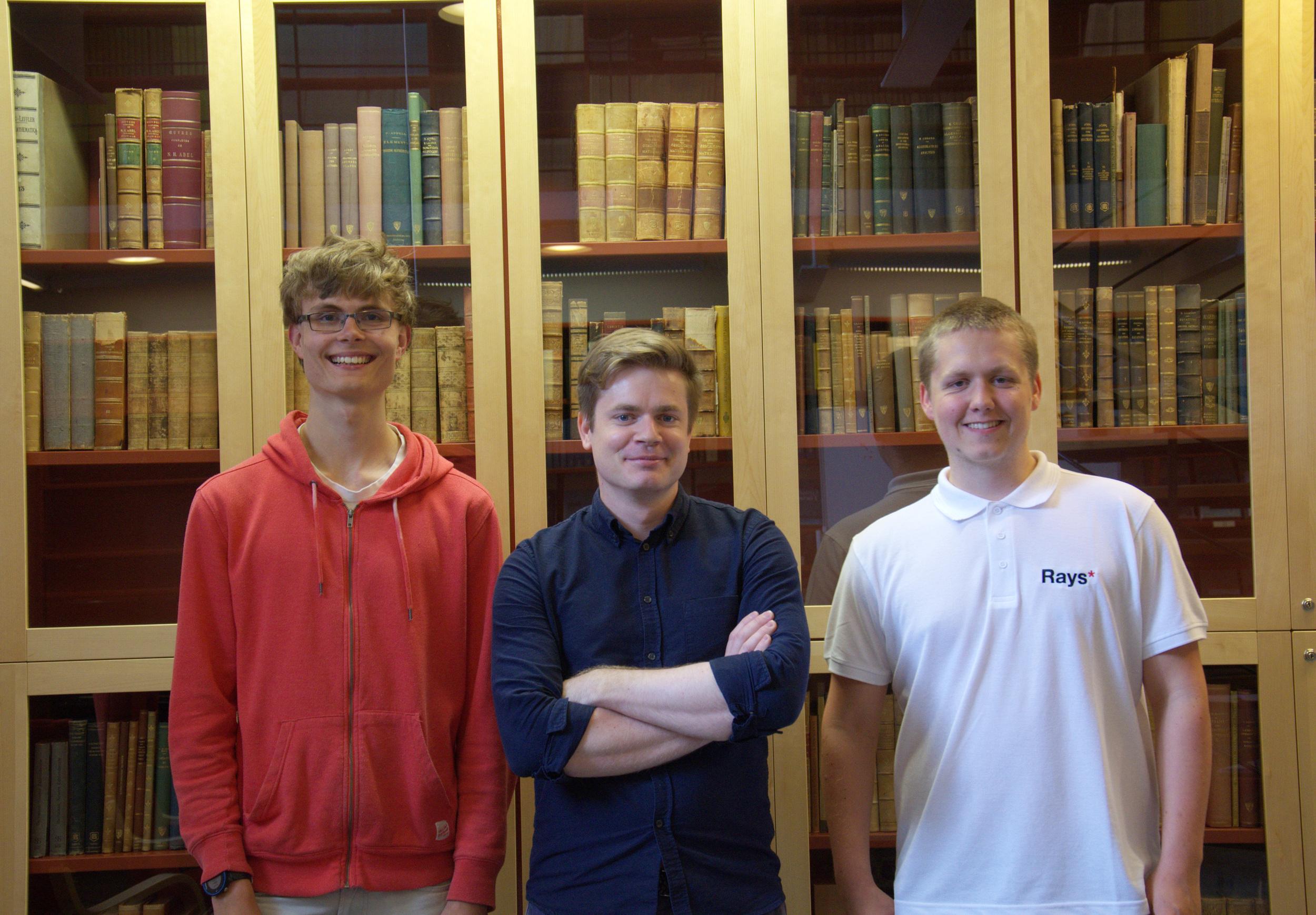 I somras forskade Daniel Eriksson och Ludwig Wemlén på tropiska polymnon, stöttade av sin mentor  Jens Forsgård.