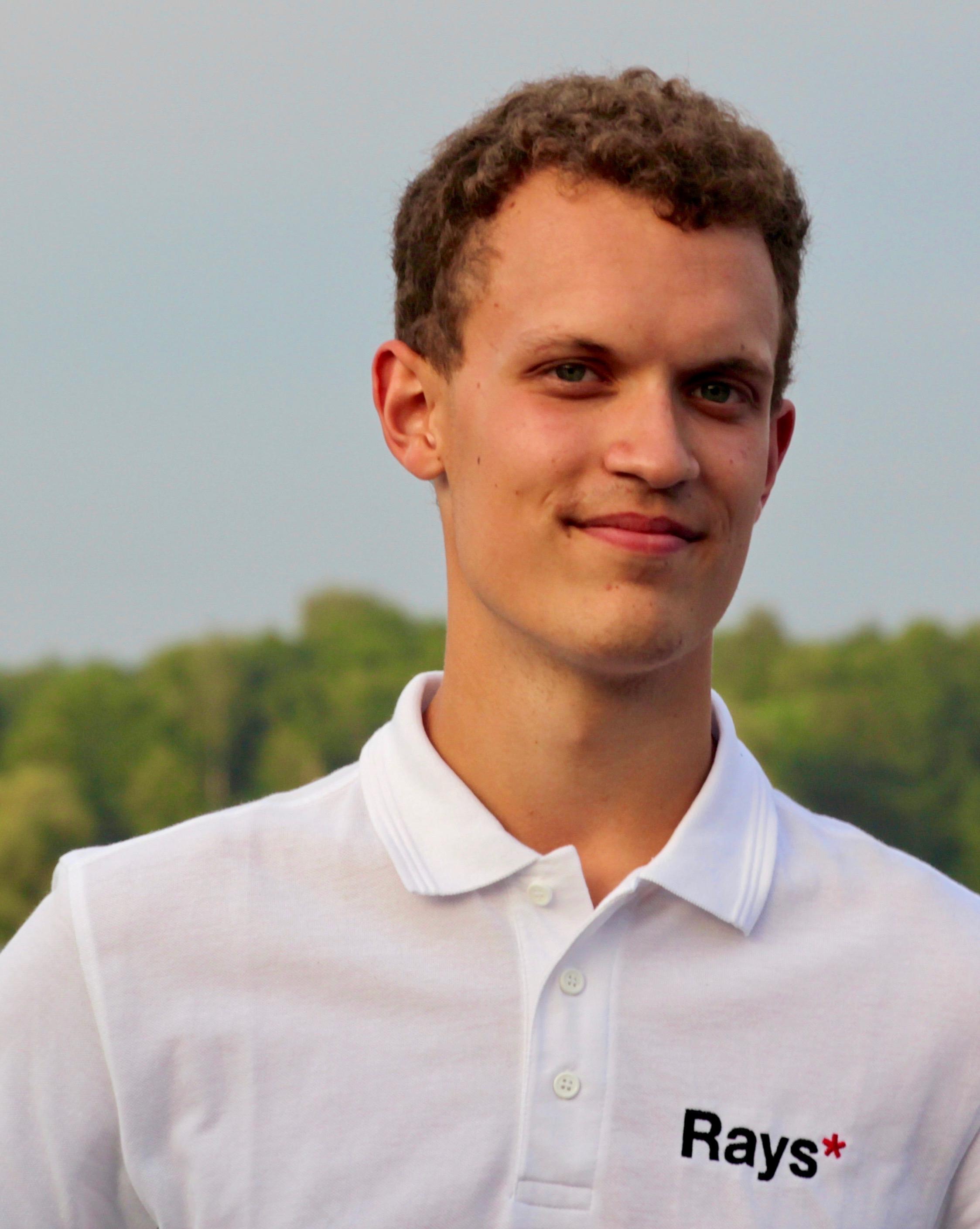 Efter sitt deltagande i Rays 2016 längtar nu Andreas Möller till att börja på universitet.