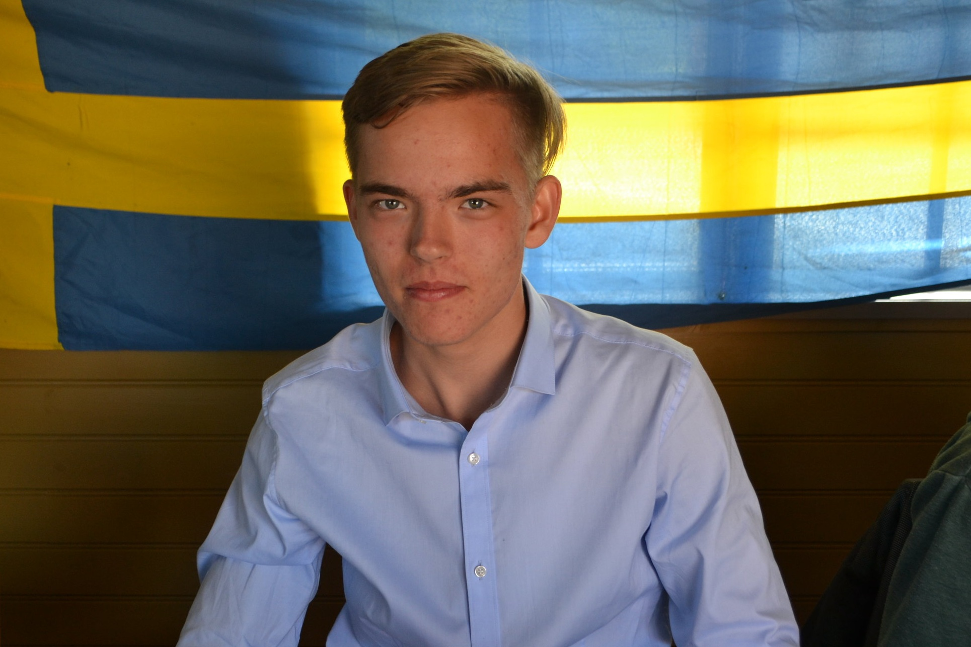 Otto Stenman deltog i Rays 2018 och var en av de två första eleverna från Finland.