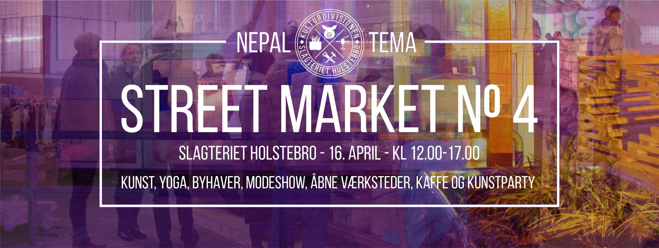 STREET MARKET NO. 4 - NEPALESISK TEMA