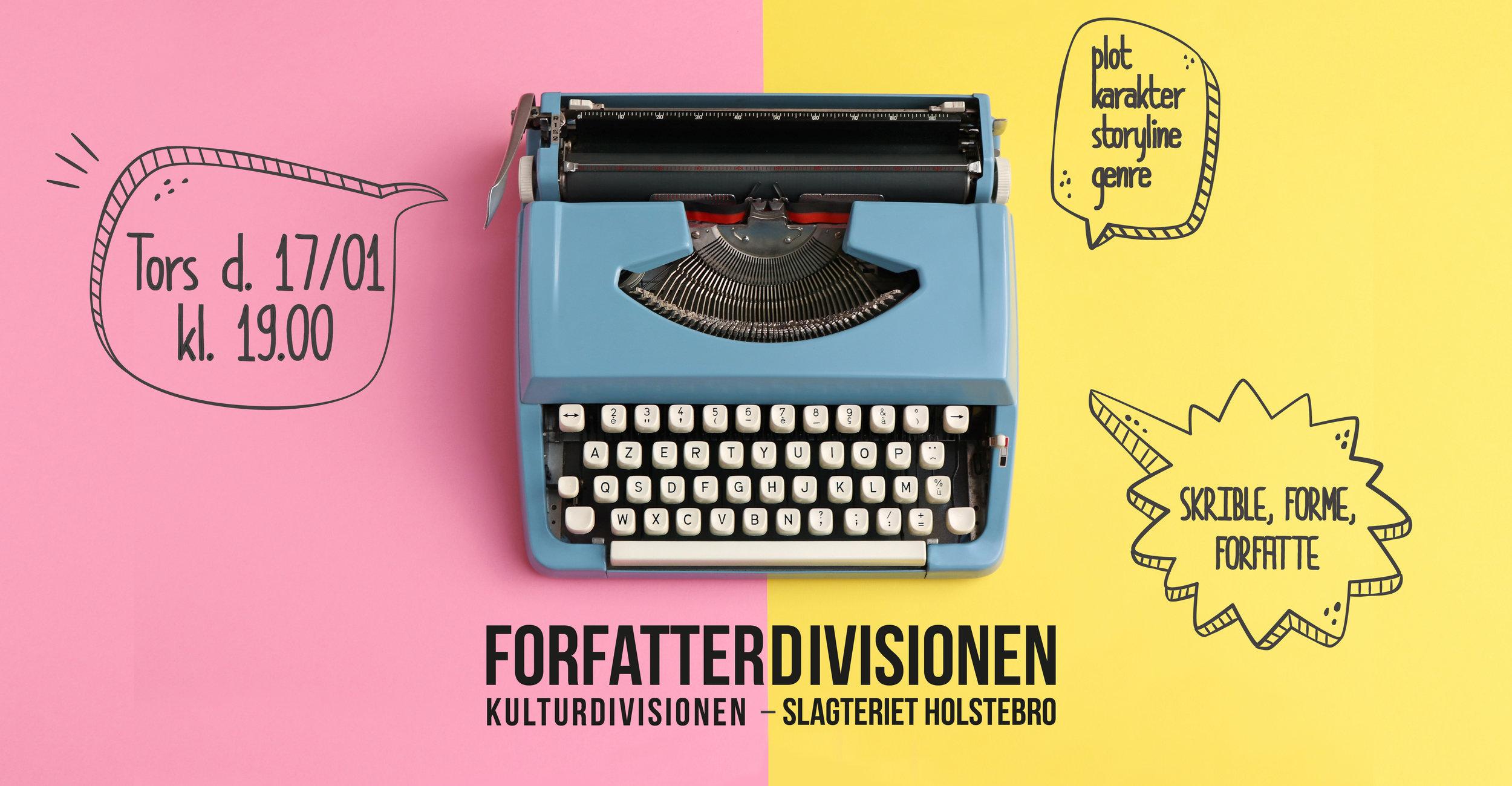 FORFATTERDIVISIONEN  - 5 GANGE