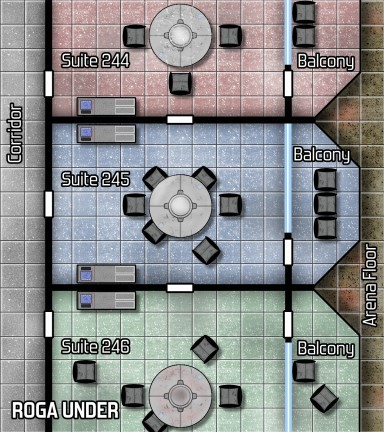Roga Under Map
