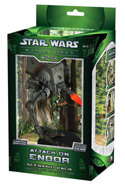 Star Wars Miniatures Attack on Endor Scenario Pack