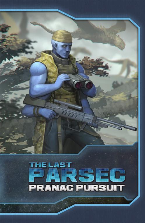 Savage Worlds RPG: The Last Parsec: Pranac Pursuit adventure