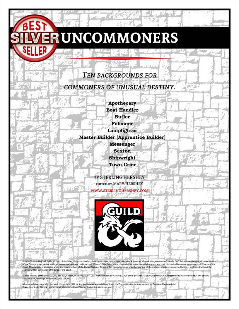 D&D - Uncommoners