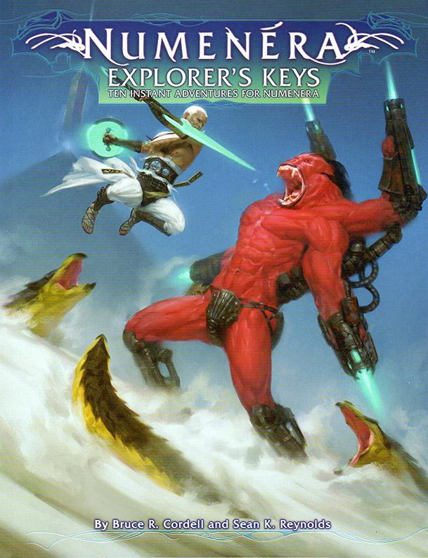 Numenera Explorer's Keys