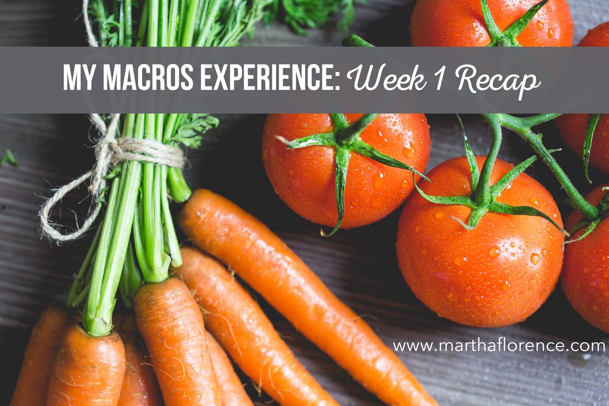 macros-week-1