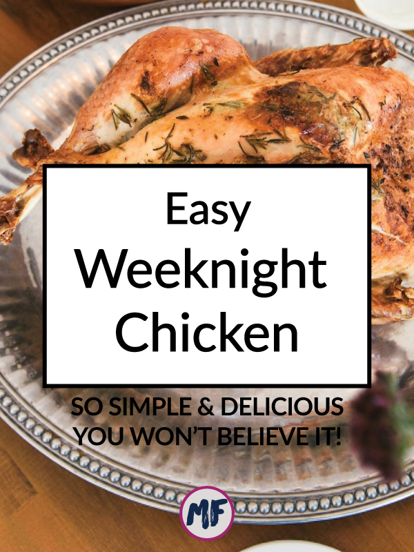 Need a super fast and super delicious chicken recipe for those nights when you are strapped for time or lacking in motivation? This recipe has you covered less than 15 minutes to prepare but tastes like you spent all day in the kitchen!
