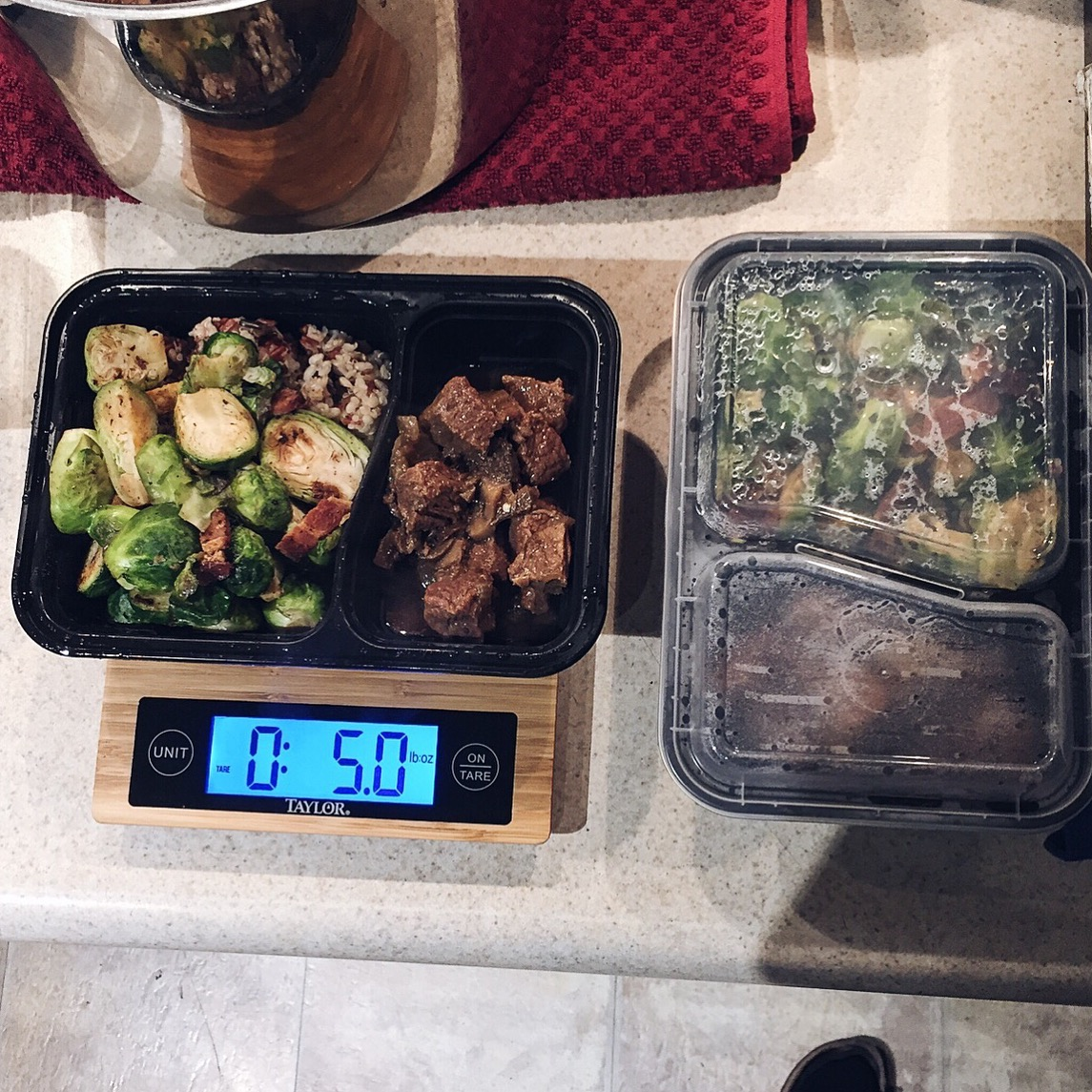Macro meal prep