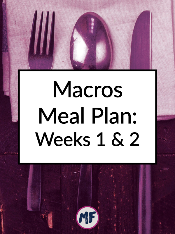 Macros Meal Plan: Weeks 1 & 2. A look at how I navigated being on a meal plan while traveling as well as my initial impressions of this macros based plan and how it's working for me.