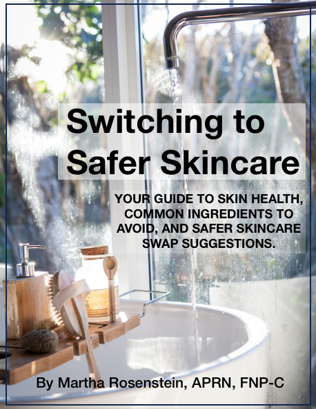 Ready to switch to safer skincare? This guide walks you through many of the ingredients to avoid in skincare products and gives you some safer skincare swap suggestions for you and your whole family.