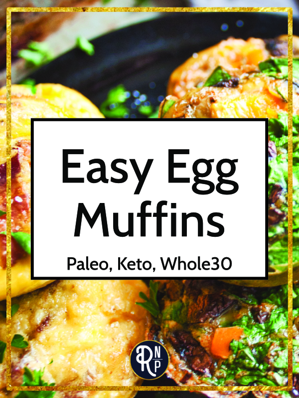 These tasty, easy egg muffins are a great make-ahead option for breakfasts on busy days. They can be adapted to fit your your preferences or whatever you have on hand.