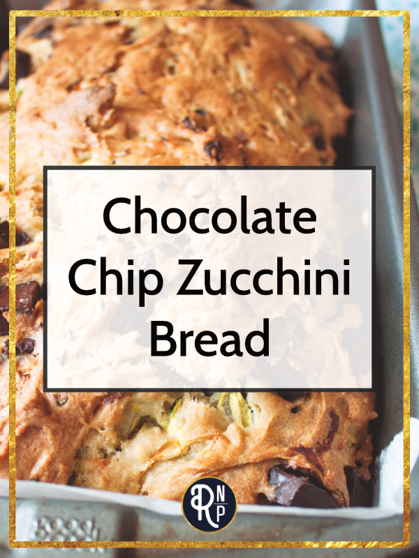 This gluten-free Chocolate Chip Zucchini Bread comes together quickly and is the perfect way to sneak some extra vegetables into your day.