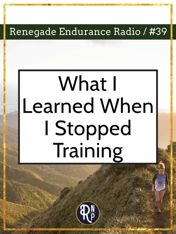 """What I learned when I adopted the """"non-training"""" method of training, how it worked out for me, and what others can learn from my experience."""