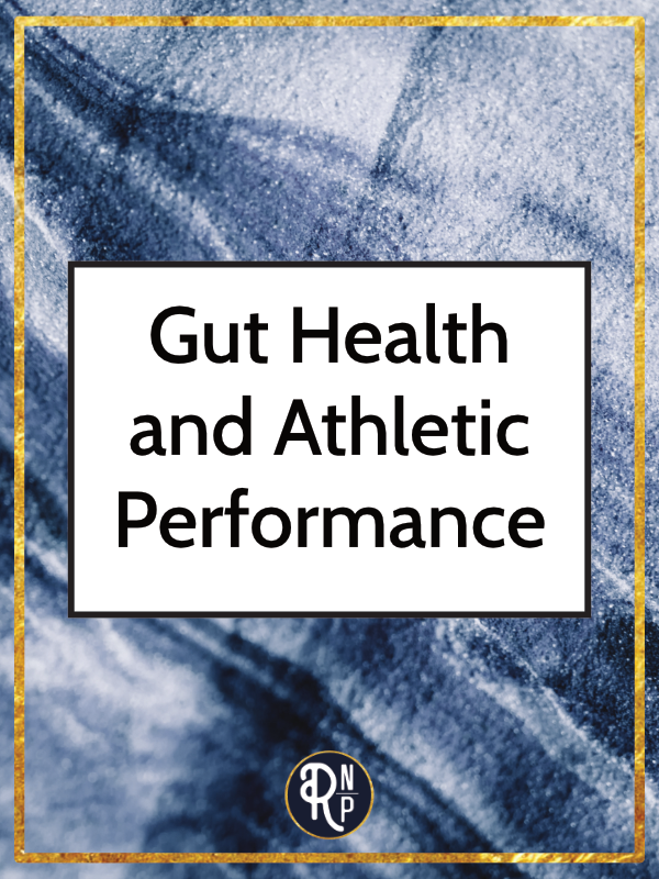 Gut health is an important part of athletic performance. Not only does your gut health impact the way you perform, but your training and athletic performance impacts your gut health. While most athletes have experienced some sort of digestive upset during training or racing, you do not need to have GI symptoms in order to have poor gut health.