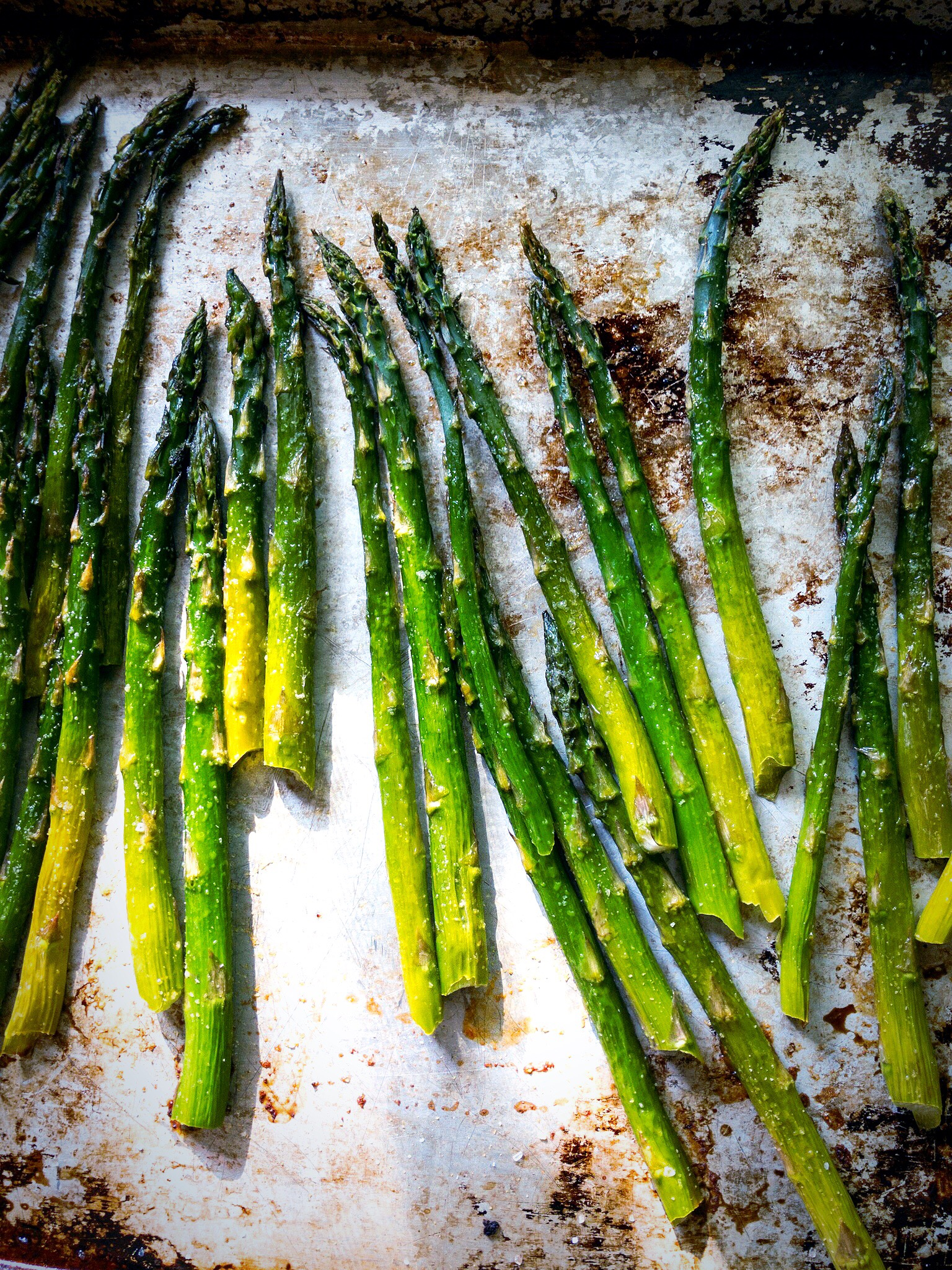 the best oven roasted asparagus