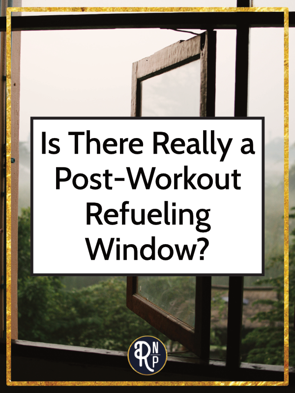 """So many sports nutrition experts and resources tell you that there's a """"special window"""" after a workout where you should refuel. Typically that window is reported as 30-60 minutes. Why? Reasons include preventing muscle breakdown, restoring glycogen, helping with protein synthesis, promoting recovery, etc. I'm not a sports nutrition expert, so I'm not refuting those benefits, nor am I saying that you don't need to adequately fuel your training. #sportnutrition #postworkoutrefuel #holistictraining"""