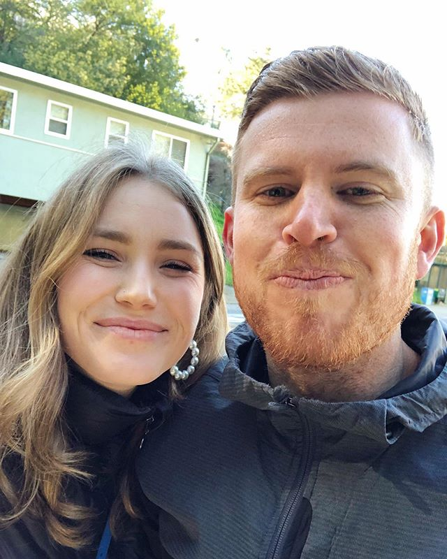 Happy birthday to the weirdest, sweetest, most soulful ginger!🥕 . Thanks for making me quit my 9-5, demand more of myself, and (try to) walk up early. . I'm a better me, because of you. . Cheers to all the cold brew, Ubering short distances, endless Tom Kha Gai, and weird noises. . Have the best day, Ku♥️