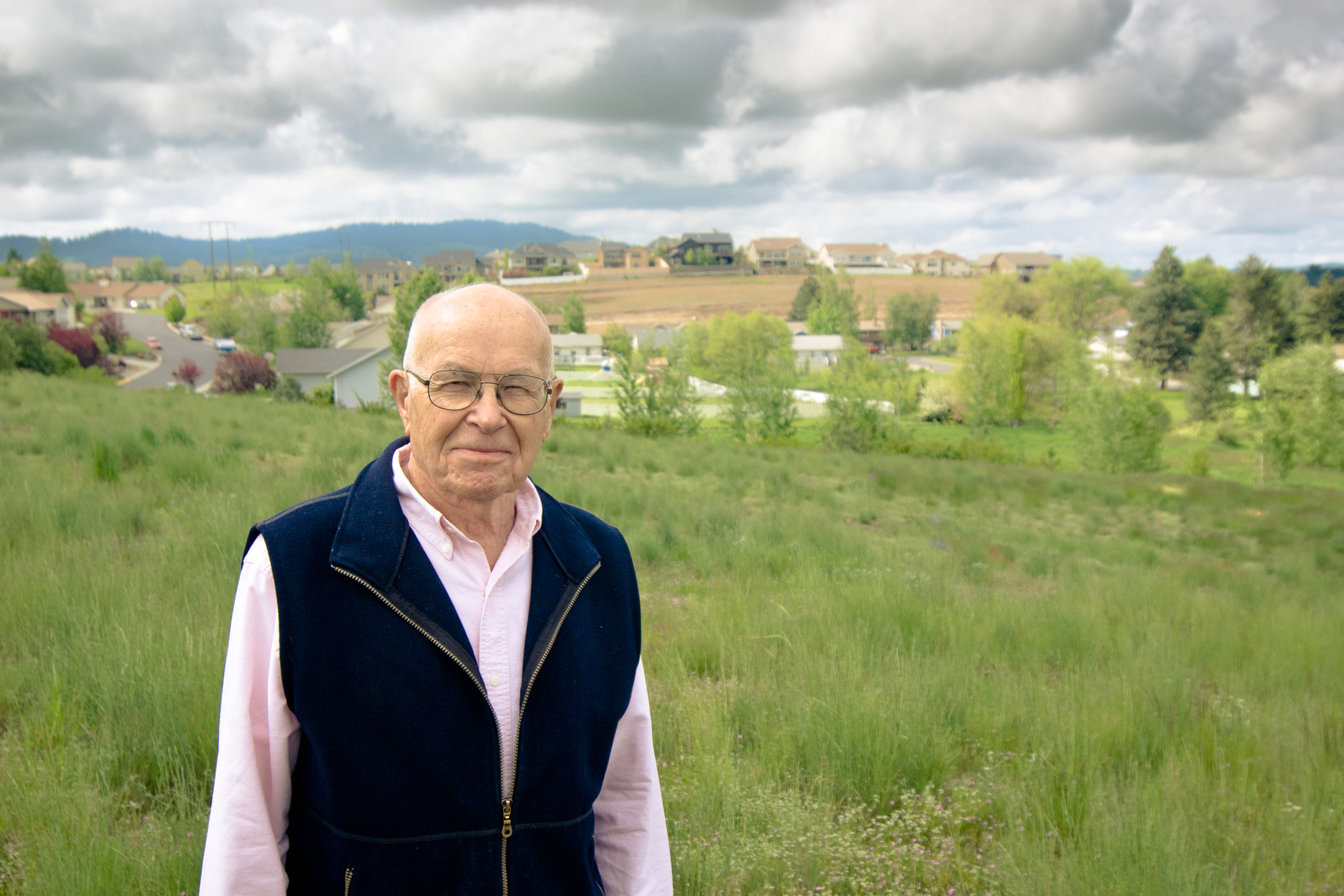 Maynard Fosberg and the prairie restoration planting